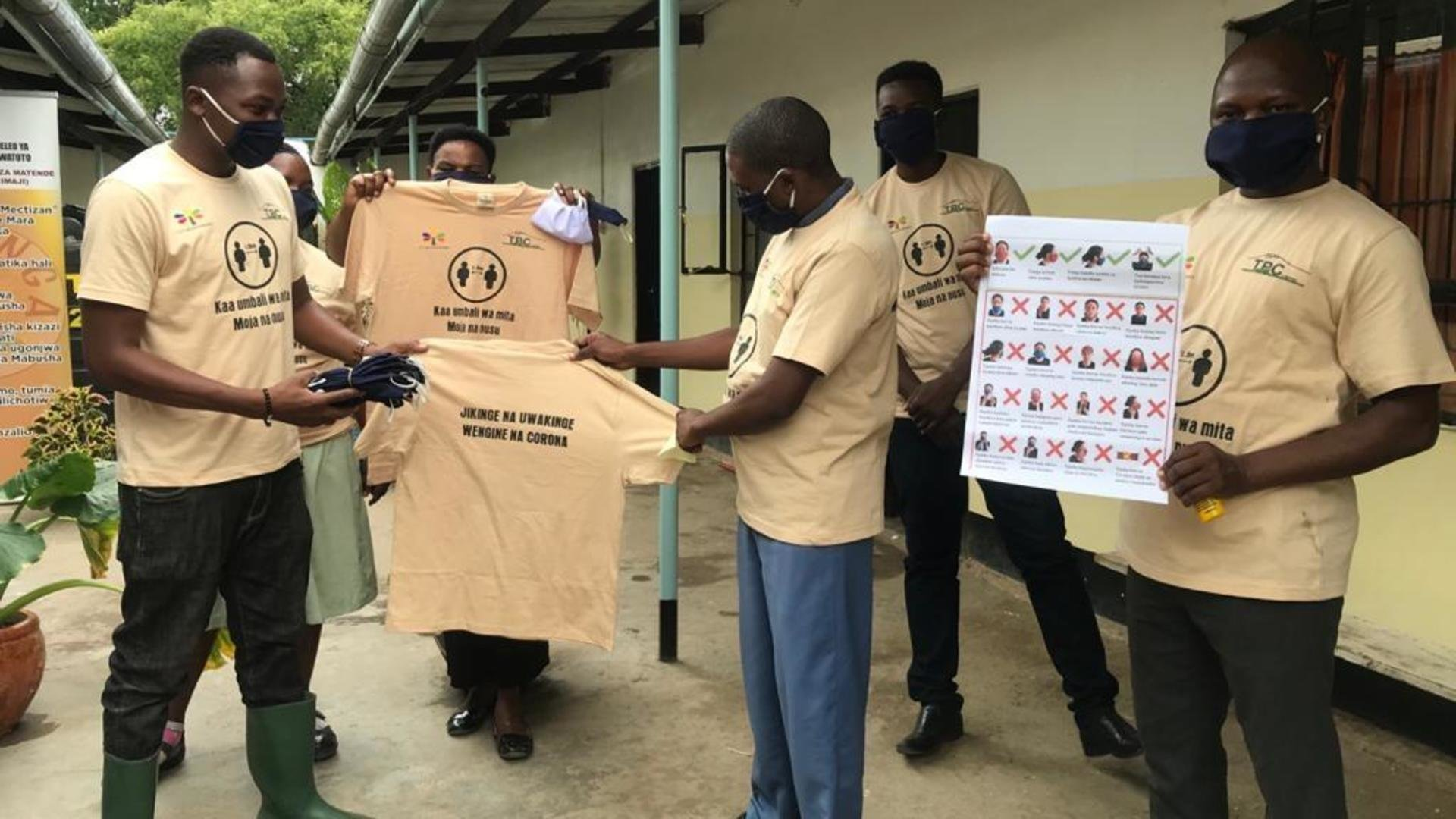 TPC and FT Kilimanjaro raise awareness around COVID-19 in the Lower Moshi region